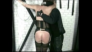 real slave master Wife tied blindfolded forced orgasm gangbang