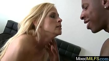 cocks gets with black deville cherie play to Tease delivery guy