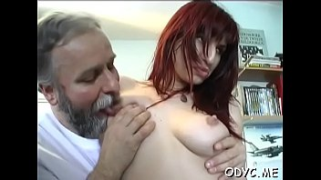 fuck young woman girl old Big tit redhead handjob5