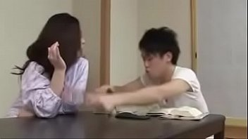 japanese creampie son force mom Hand glove handjob