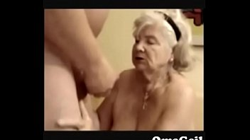 77 year old man Japanese milf mom sucking son friend7