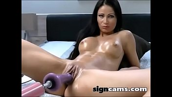 mp4 dildo brunette super 6 hot pussy fingering with her a Artist malay sex xharmaer