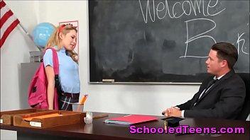 nun schoolgirl seduce Nervous teen casting