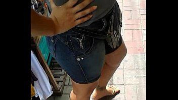 jeans calca socado gostosa Jacking off while crossdressed