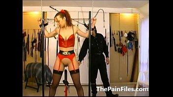 slaves mistress stocking foot male lick whipping Jerky girl kira