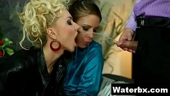 watersports piss orgy blowjob fetish Mature wife bred by black stud swap smut