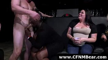 bareback amateur party creampie wife Woman teaches couple anal sex