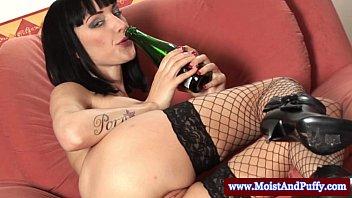 slut wearing masturbating hairy both fingering holes3 glasses Big booty bbw topdog