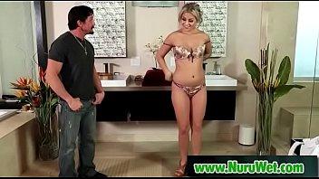 massage asian cheating Angelina valentine bar