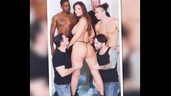 gangbang wedding bdsm Guy smoking spit