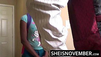 ebony gyno girl exam Latex catsuit footjob