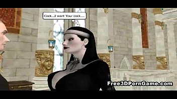 with sex nuns Hardcore interracial cumshot