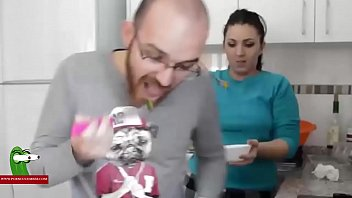 kitchen in fuck and Really horny girl fucks her sweet cunt on cam