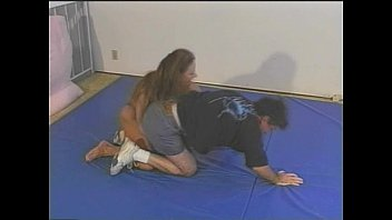 thorn mixed nikki wrestling Solo squirt on sofa