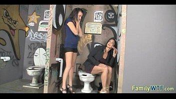 tag dominatrix team Wife stockings high heels gang