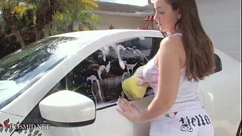 may mandy car wash Homemade watching mature wife with first bbc