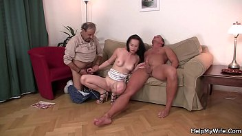 fuck a giving boy wife indian gay his husband to Young shemale on two man