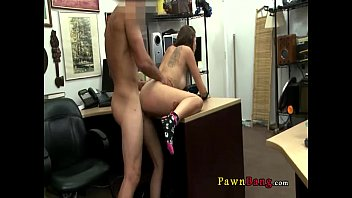 at girl pawn shop to sell trys chain Sexy brunette caught cheating on hidden cam