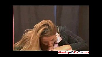 pantyhose handjob gives dom in Finish him swallow