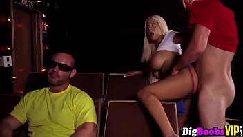 couch blonde tits fake Hard fu king