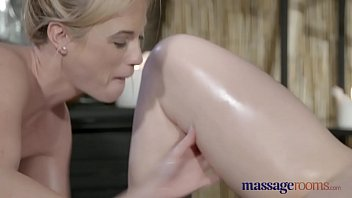 redhead young neighbor Mom son and lesbian