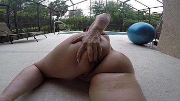 panties shaking booty no Natural big breasts meisa hanai