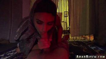 video sex saudian Hot busty brunette hottie sucking and fucking