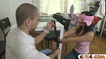 band to cheating boyfriend Brazilian waxing female