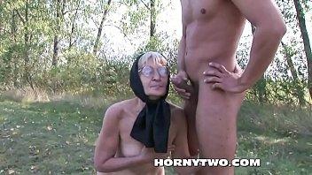 thick granny hairy solo Humilation rape whore