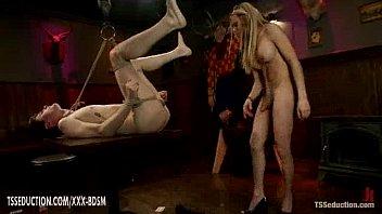 bondage shemales guys Sexy 3d hentai nun gets gangbanged
