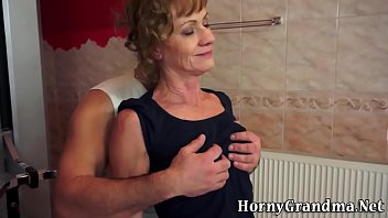 very old lady has orgasm Antonio biaggi raw threeway
