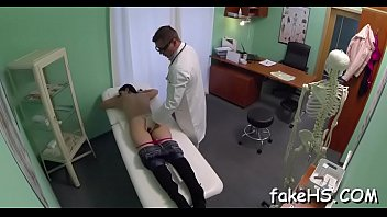 com doctor sex Sexy girls gagging and spit cum in each others mouth
