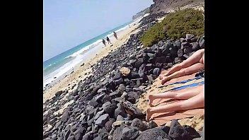 beach at lesbians sex nude Taylor wayne 5