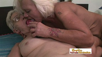 piss perverse old granny Granny lesbian ass sniffing