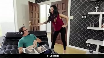 hel mom son Asian mistress tease denial