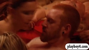 swingers couple watching Marica hase jumps on that dick and fucks ass to mouth