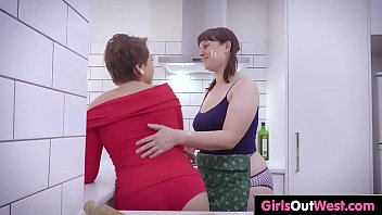 slave and squirting lesbian licking Sonja haze ginger head