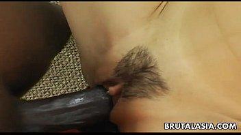 black asian amatuer First painful anal long hd
