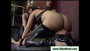 ffm ebony rimjob facesit femdom Self spank master