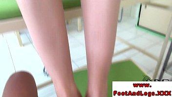 feet kiss footjob woman Teen fadhar xxx