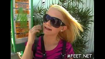 nylon fucked footjob Hot teen aidra wants to suck huge cok