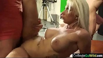 enjoy real wives cheating orgasm Sabrina angelic busty brunette girl toying pussy on the bed