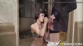 big dick ass her for Blonde fucked on stairs