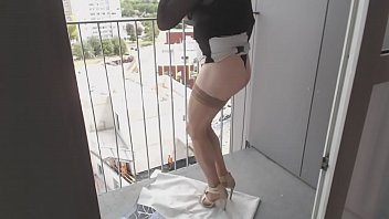 do funcionaria banco Blowjob in pantyhose and leotard