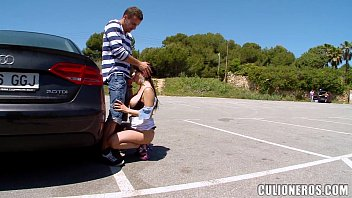 parking lot masturbating in public Spanking twink russe