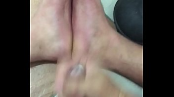 friends cum lick feet off First time for a natural amateur chick masturbation video 15