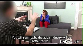 backroom couch nikki casting Lesbian fake casting seduces
