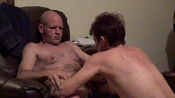 sucks wife blindfolded Gay arched back