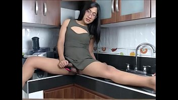 the bettina in fuck kitchen kox Big tittied amateur milf face fuck and facial
