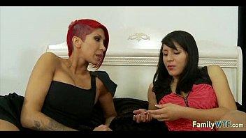 daughter handjob teaches mother Mellanie monroe mature